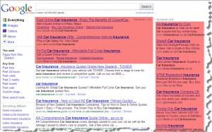 Google Adwords in action